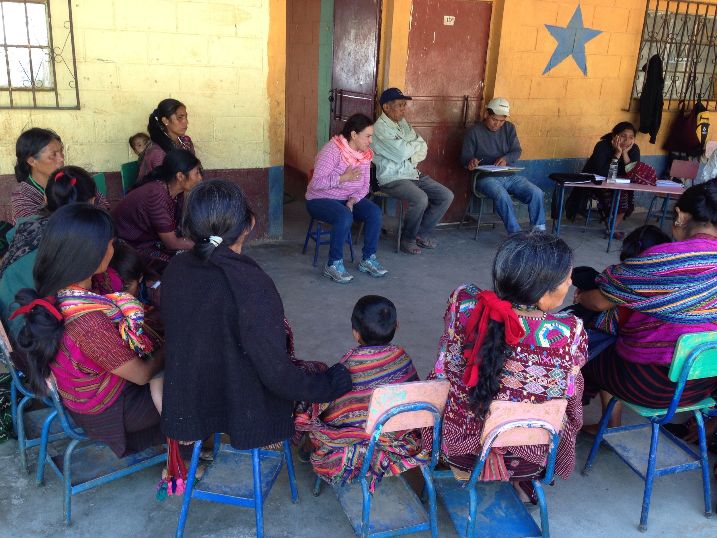 Mtg in community without much water and thus: fewer trees, more sickness.