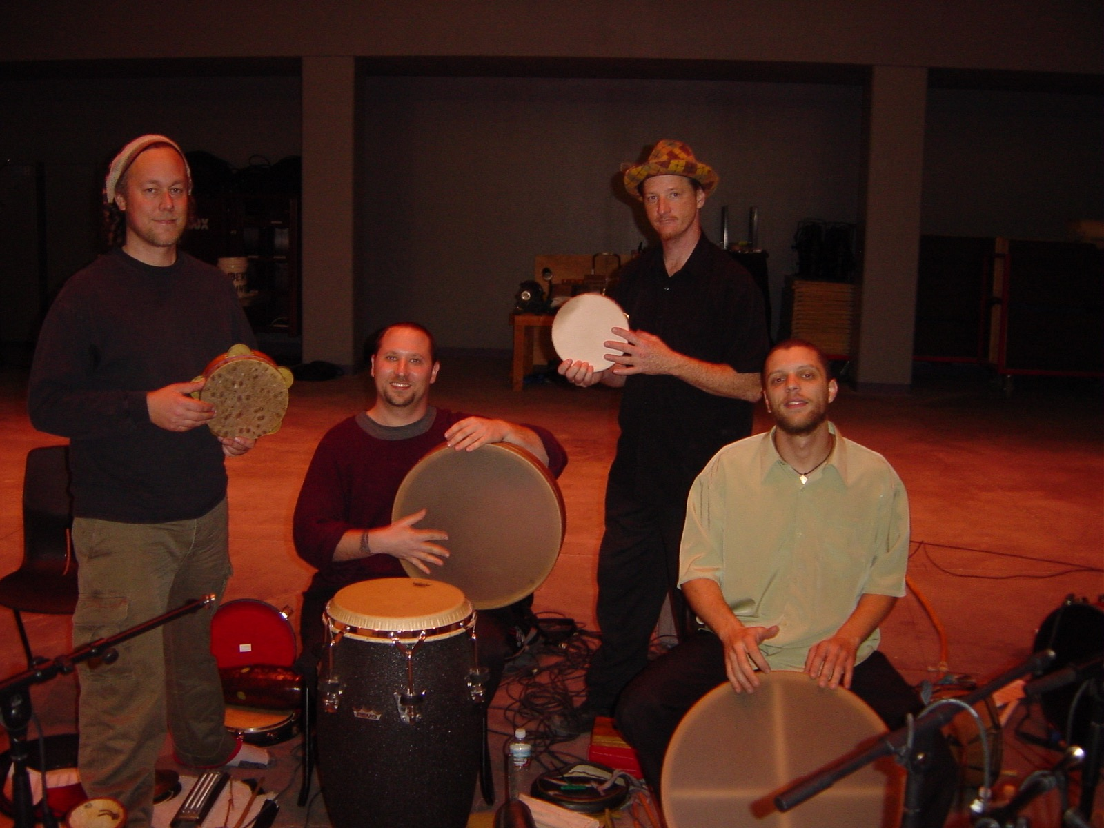 Hands On'Semble with Brad Dutz at Henderson Day of Percussion.  Henderson NV, 2004.