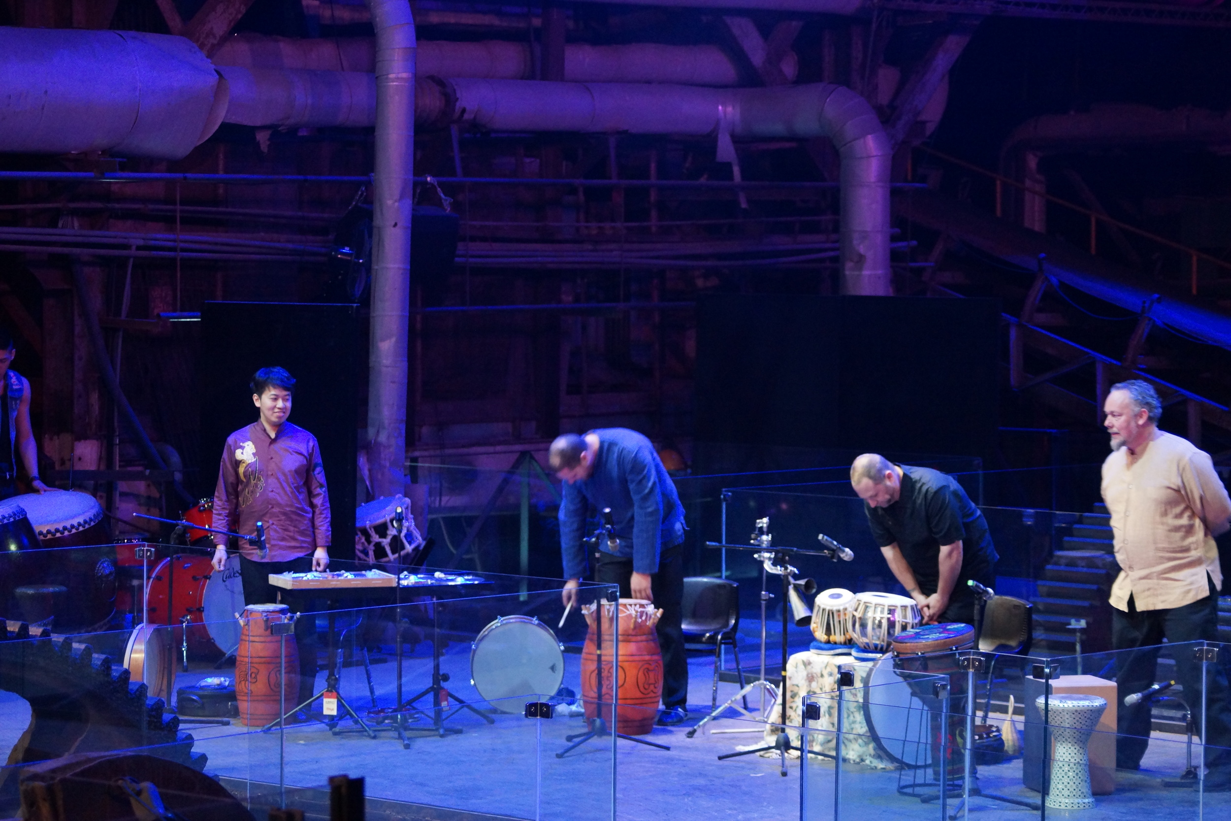 Hands On'Semble.  Opening concert of the 2016 Tainan International Drum Festival. Ten Drum, Tainan Taiwan. February 8th, 2016