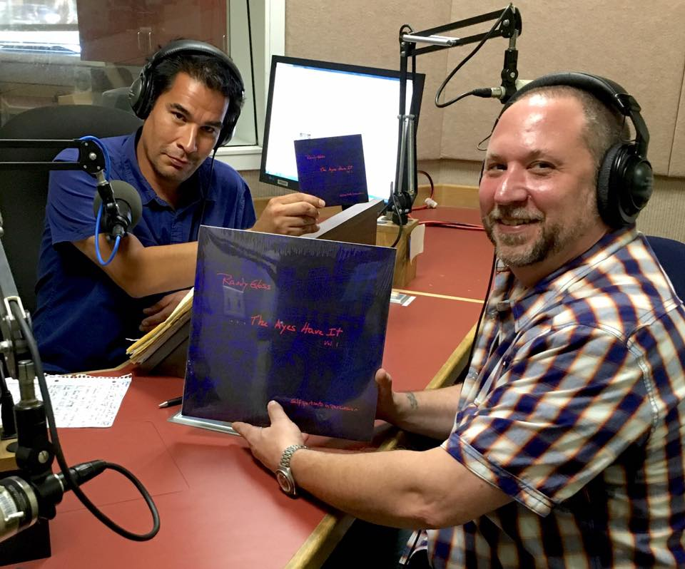 "Promoting ""The Ayes Have It"" on Music Forum with Carlos Uribe on Lancer Radio network, at Pasadena City College."