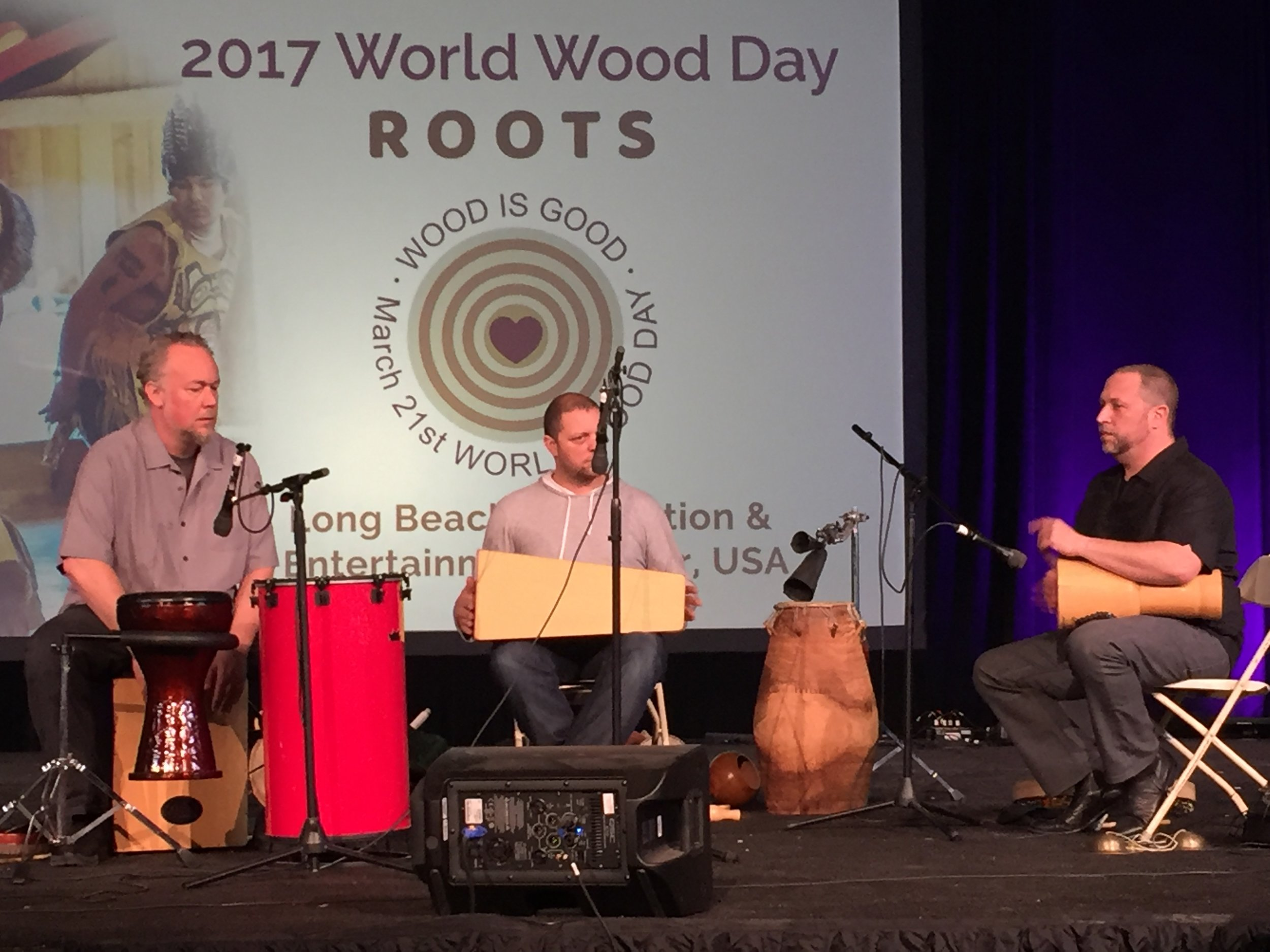 Hands On'Semble at World Wood Day Festival 2017.  Long Beach Convention Center. March 26th, 2017.