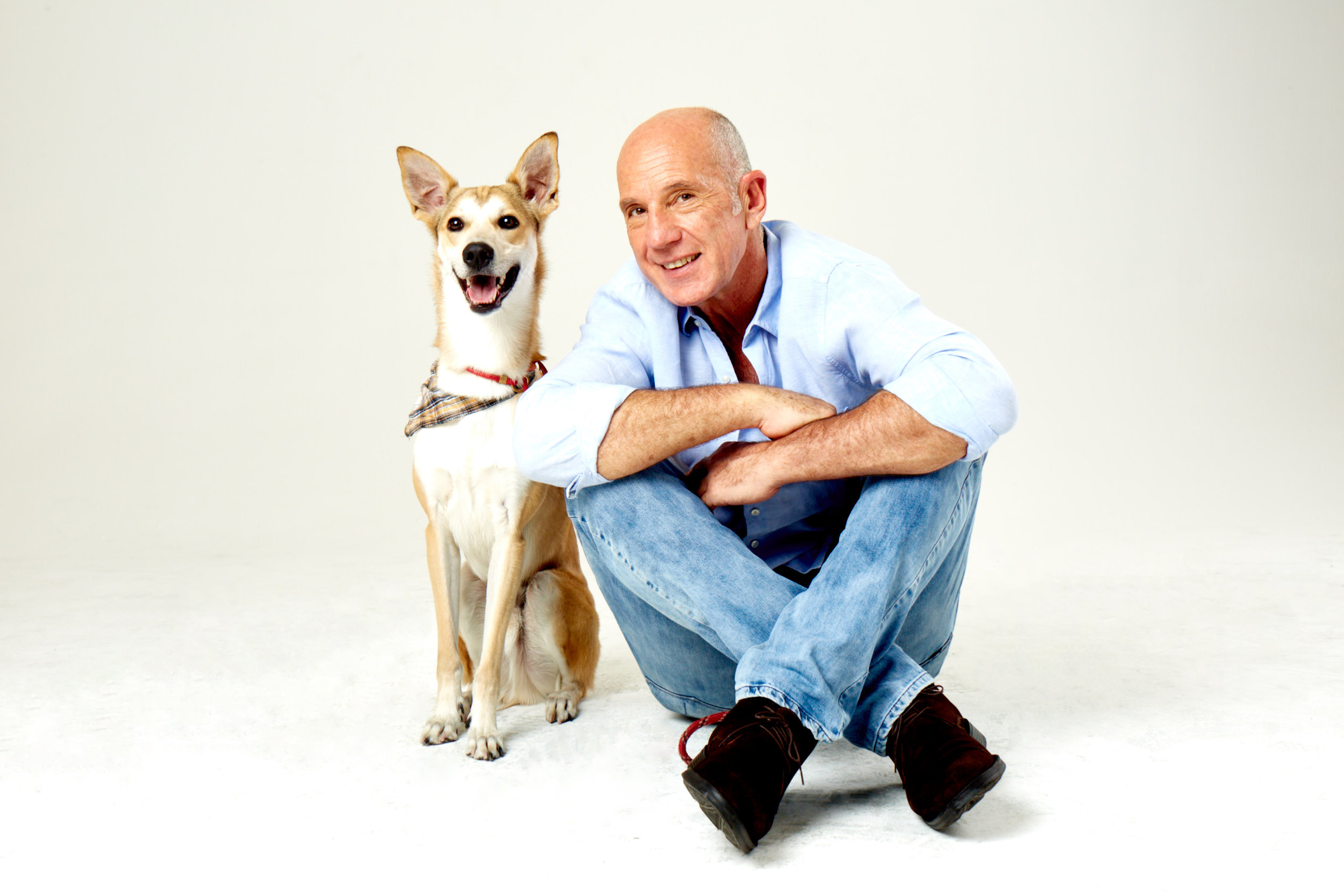 Xexéu Tripoli e seu cachorro. Atitudes a caminho do lixo zero.