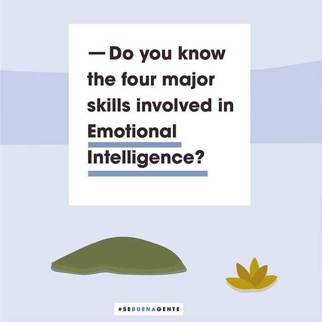 ⁣Do you know the four major skills involved in Emotional Intelligence?⁣⠀ ⁣⠀ The ability to perceive emotions.⁣⠀ The ability to reason with emotions.⁣⠀ The ability to understand emotions.⁣⠀ The ability to manage emotions.⁣⠀ ⁣⠀ How many of these qualities do you possess? How can you improve them? Journaling is also a great way of exercising the mind. Tell us in the comments below. We're here to listen.⁣⠀ ⁣⠀ #sebuenagente #emotionalintelligence #empowerment #personalgrowth #selfesteem #selfempowerment #teamwork #supportoneanother #workingtogether #beconsiderate #benice #bekind #bepositve #justbe #feelgood