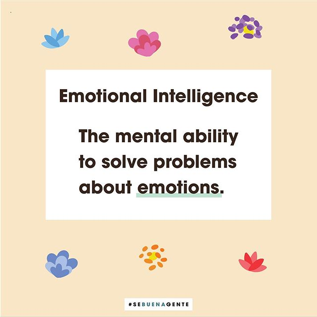The American Psychological Association defines Emotional Intelligence as a mental ability to solve problems about emotions and is considered a separate construct from cognitive ability and personality. ⁣⠀ ⁣⠀ ⁣⠀ ⁣⠀ Emotional Intelligence includes the abilities to ⁣⠀ ⁣⠀ (a) perceive emotions accurately⁣⠀ ⁣⠀ (b) use emotions to facilitate thought⁣⠀ ⁣⠀ (c) understand the causes of emotions⁣⠀ ⁣⠀ d) regulate emotions.⁣⠀ ⁣⠀ ⁣⠀ ⁣⠀ Simply put, remember to be kind to those around you because you don't know what kind of day they're having! Enjoy what you see, follow us for more and let us know in the comments below how YOU practice being emotionally intelligent? :) #emotions #emotionalintelligence  #mindfulness  #innerpeace  #innerwisdom  #therapy  #latinx #mentalhealth  #mentalhealthawareness