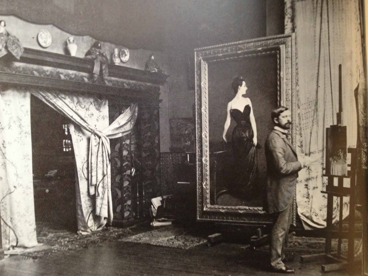 John Singer Sargent by His Famous Painting Madame X