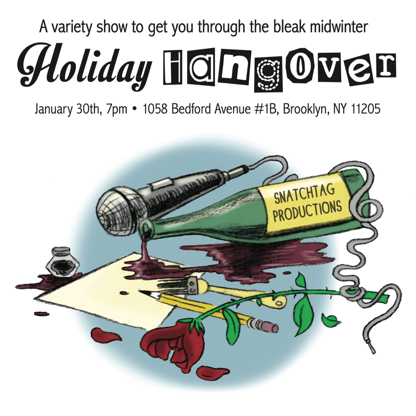 Snatchtag: Holiday Hangover
