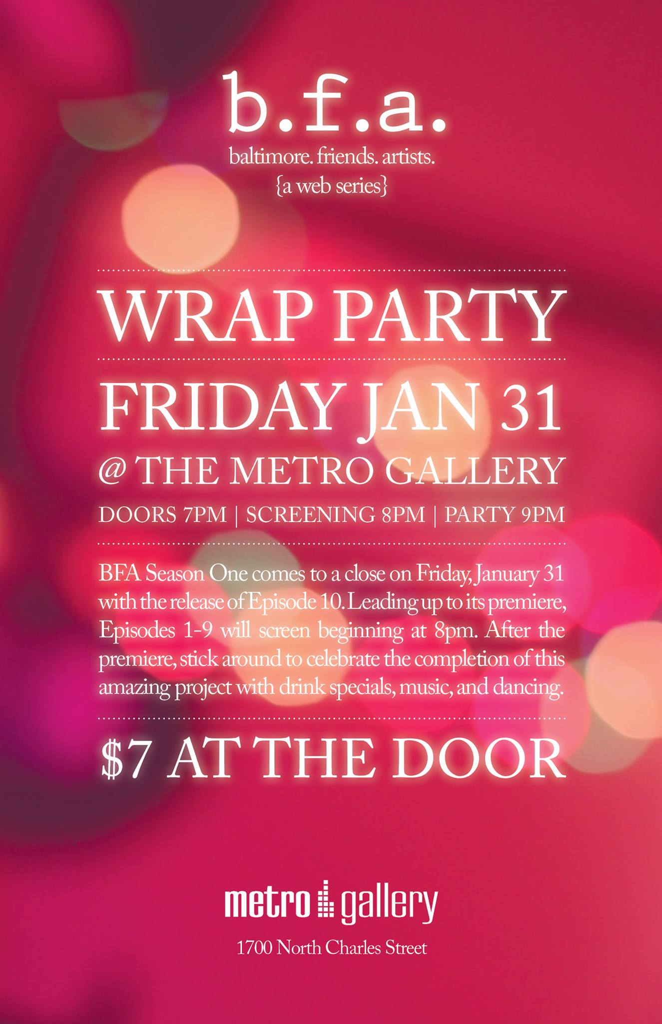 BFA Wrap Party