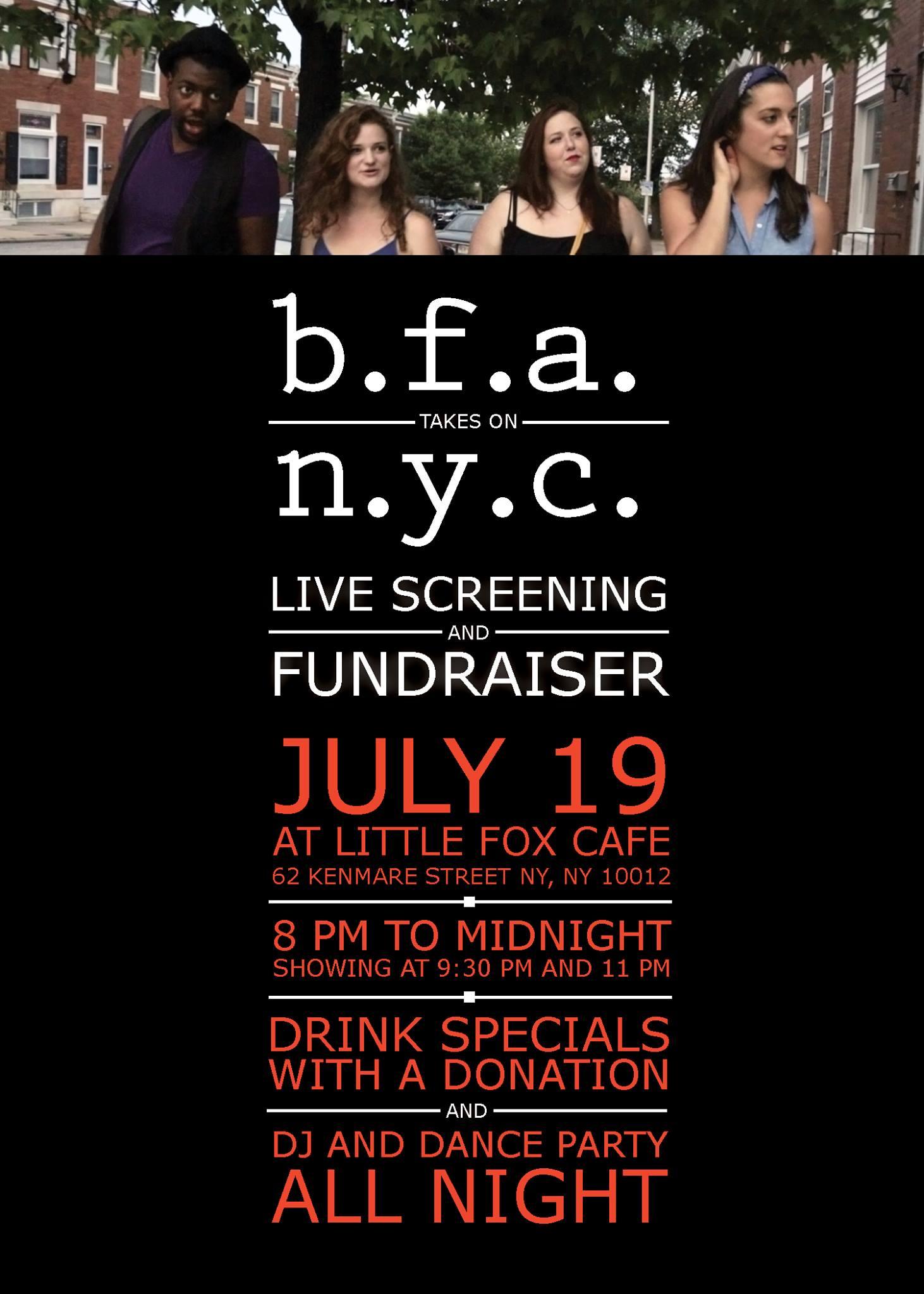 BFA Fundraiser