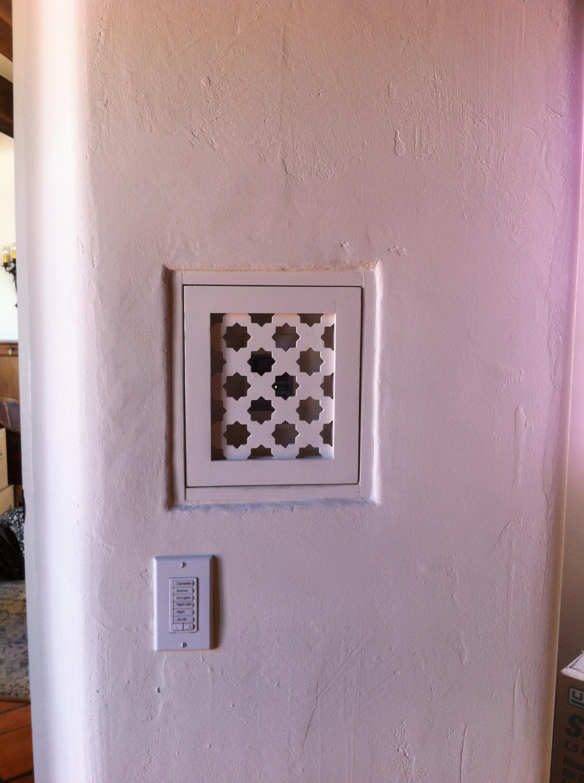 Hidden Thermostat Detail