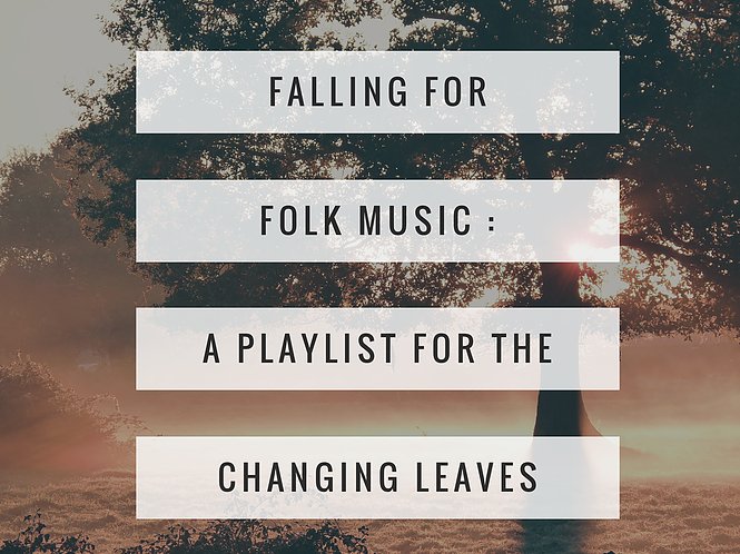 fall playlist folk music | carmen brandy
