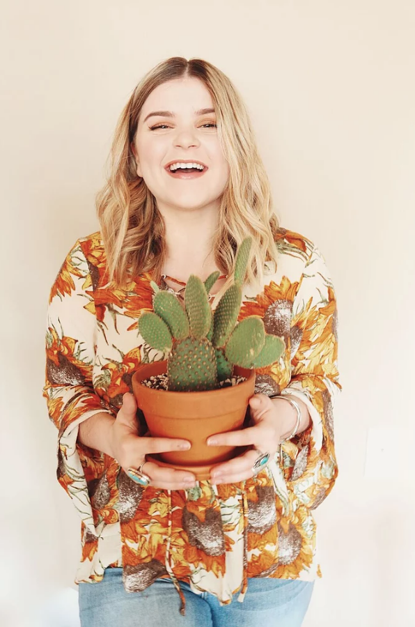 how to be a plant lady | easy plant tips from Carmen Brandy