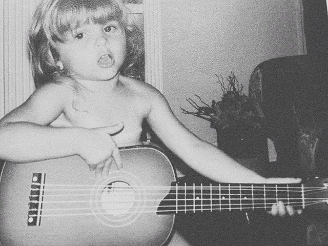 Still playin, still singin, still nude as ever, and loving life till this day. The core of who I am has not changed even since my childhood. My heart has not wavered, though circumstances have evolved, and life has thrown me chaotic moments, I am still the same baby faced Carmen, playing guitar butt naked. 😂 - My song #GoodEnough comes out this week, and my only hope for this song is that it brings people a sense of self awareness, that they are in fact worthy, good enough, and valuable in every way, and in every moment, of life. And that truth is enough to sustain them to continue moving forward through the muck that is life sometimes. I love you all! I'm thrilled to finally share my new music with you ❤️ may the peace & grace of the Lord bless you this Sunday!