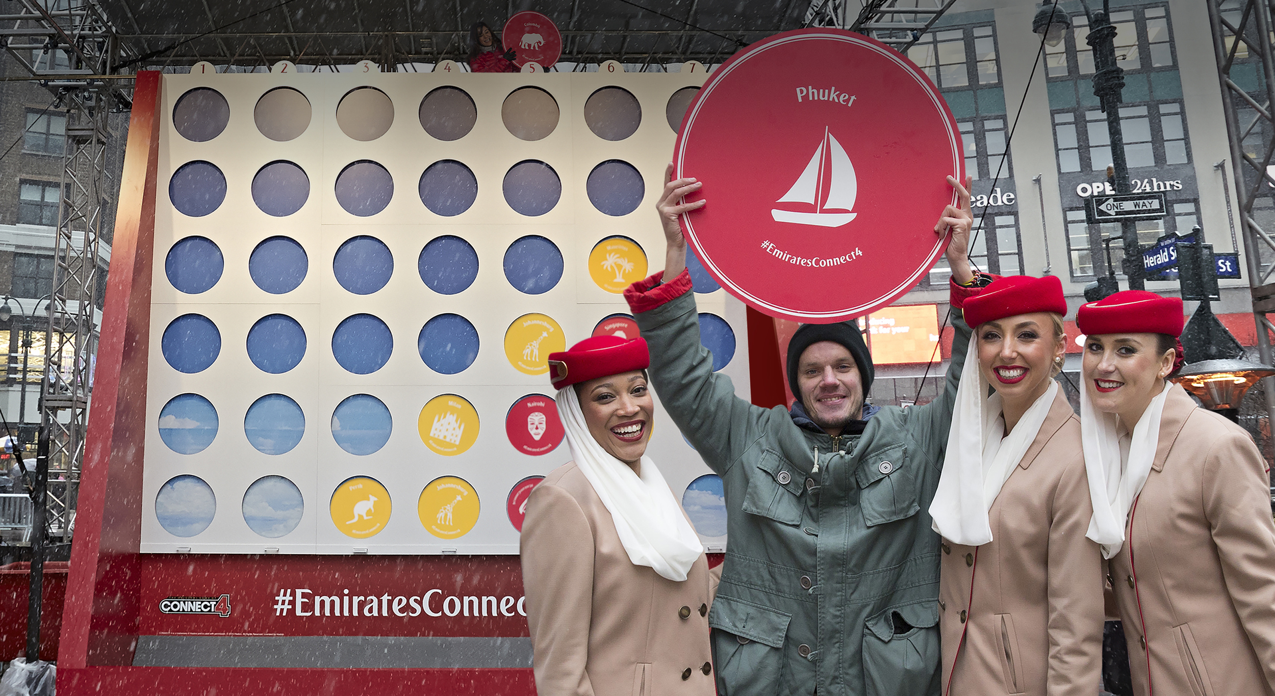 Emirates Connect 4