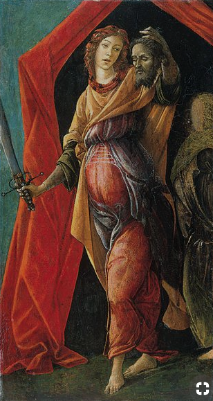1472 Sandro Botticelli (1445-1519) Judith Leaving the Tent with the Head of Holofernes