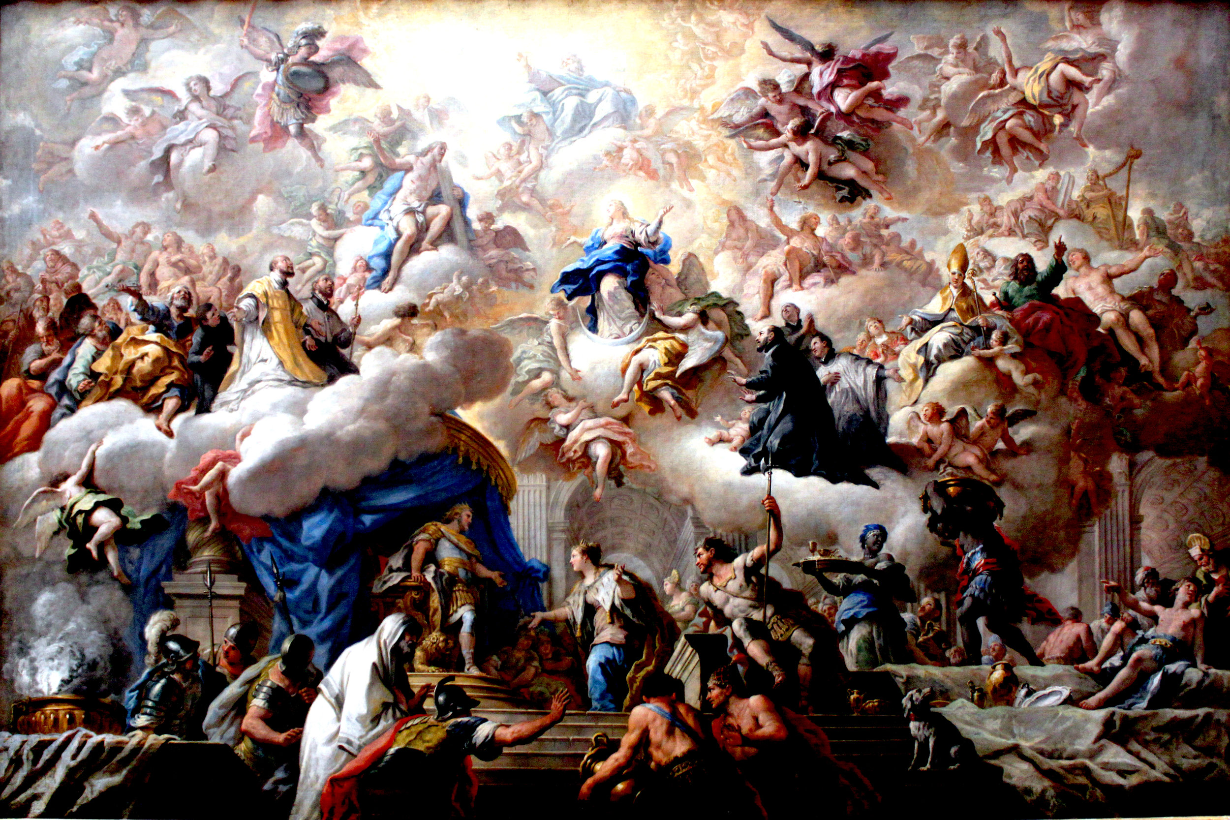 1710-15 de Matteis Triumph of the Immaculate Anagoria