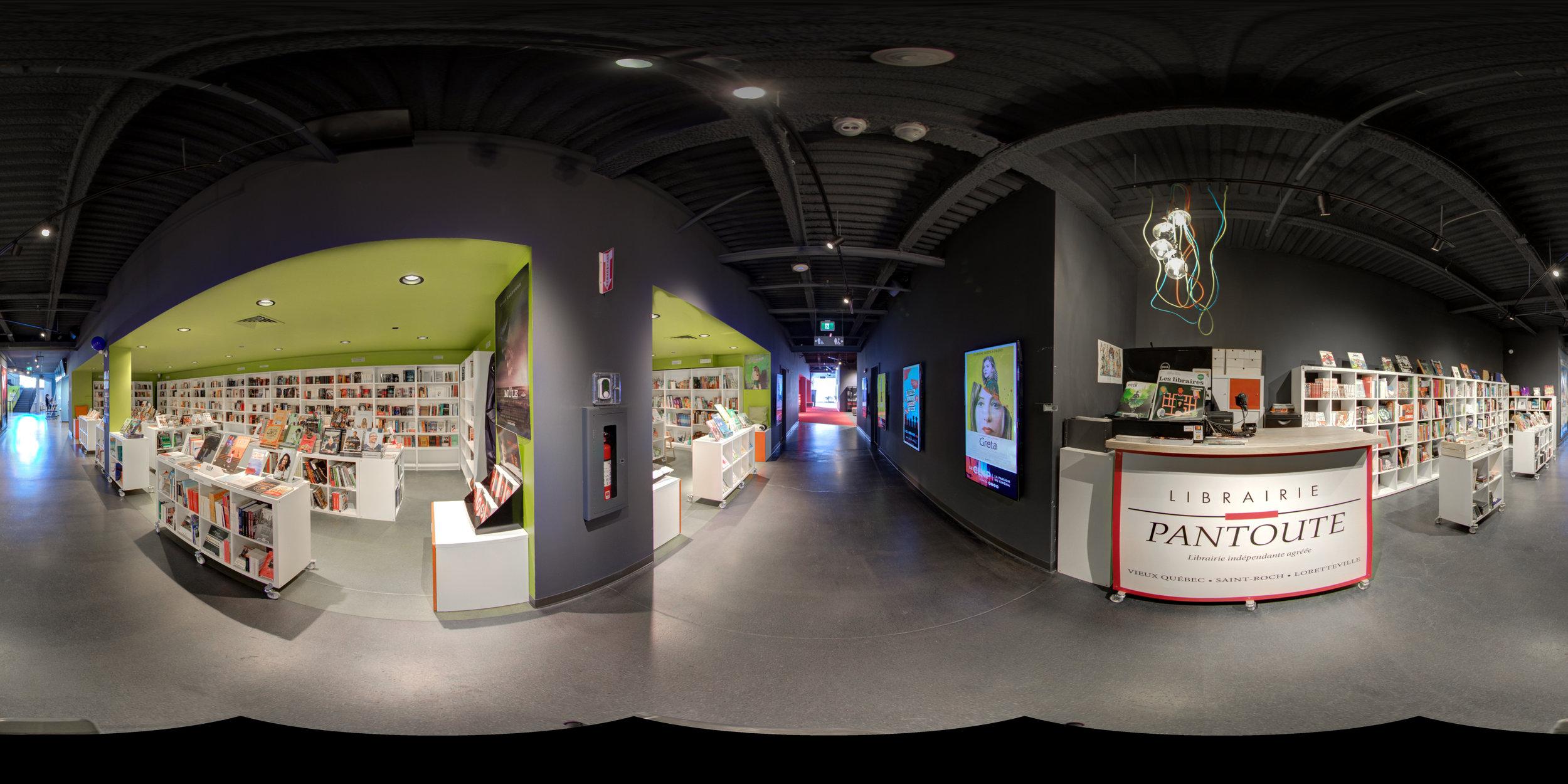 Librairie Pantoute Lorretteville