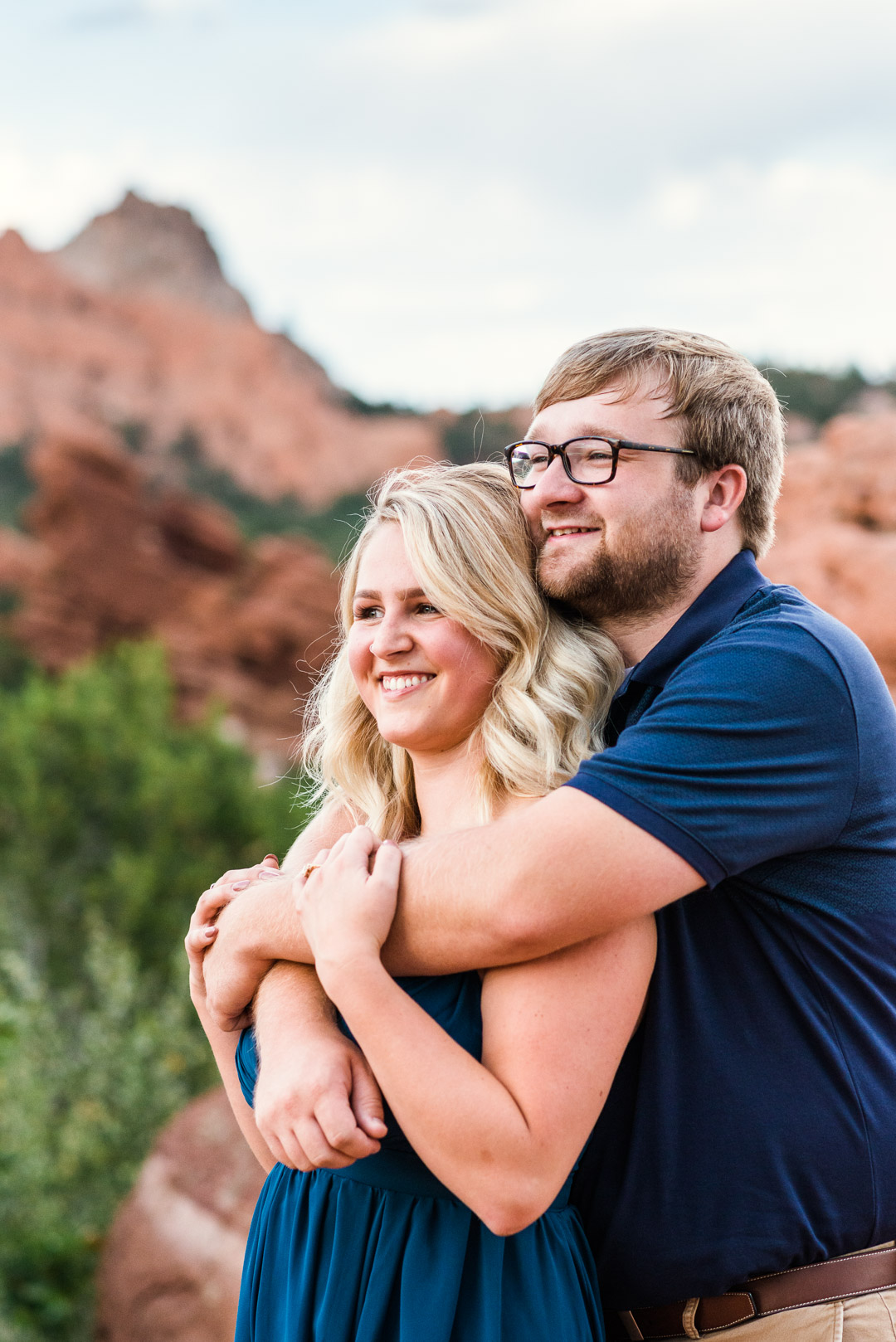 """We just received our engagement photos and are totally and completely in love!! Gabrielle did such a wonderful job for our engagement session! She was very easy to reach (being I was not from CO) and she knew all of the perfect spots for photos! Thank you so much, we love our photos!"""
