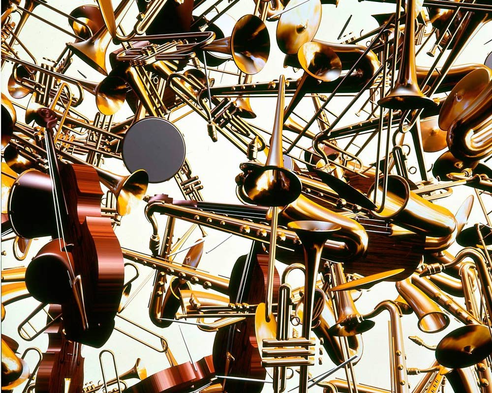 """""""Instruments"""" by Shelley Lake (1984, Digital Productions)"""