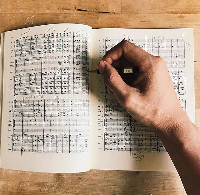 Name that piece 😉 #scorestudysunday