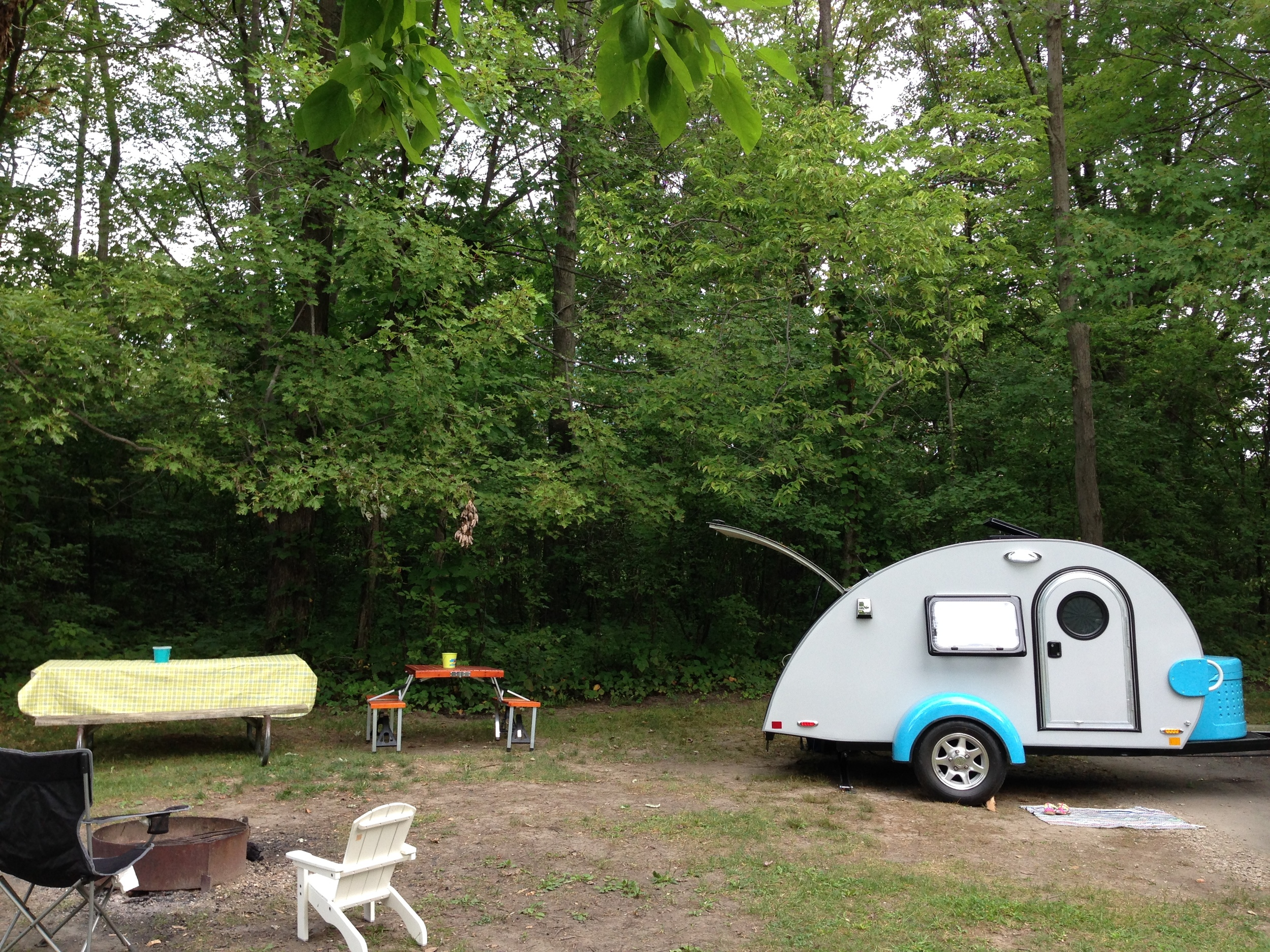 Pretty sure we had Campsite #4. We had So much room.