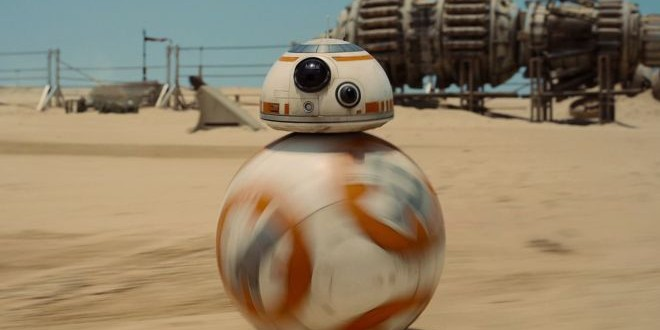 You know, BB-8, the new robot in the new Star Wars film?! I was a bit blown away.