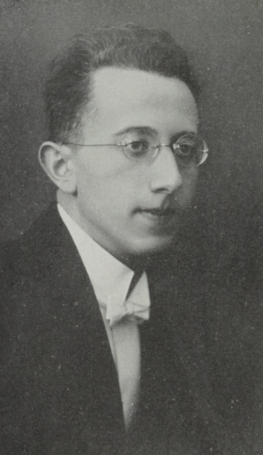Music Director Fritz Mahler (first cousin once removed to Gustav Mahler)