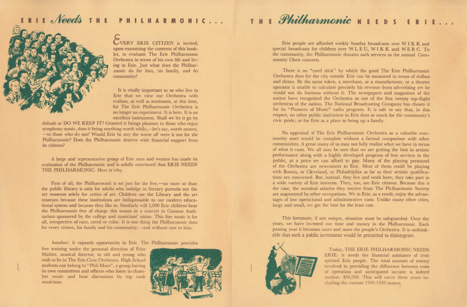 An Annual Report from 1949