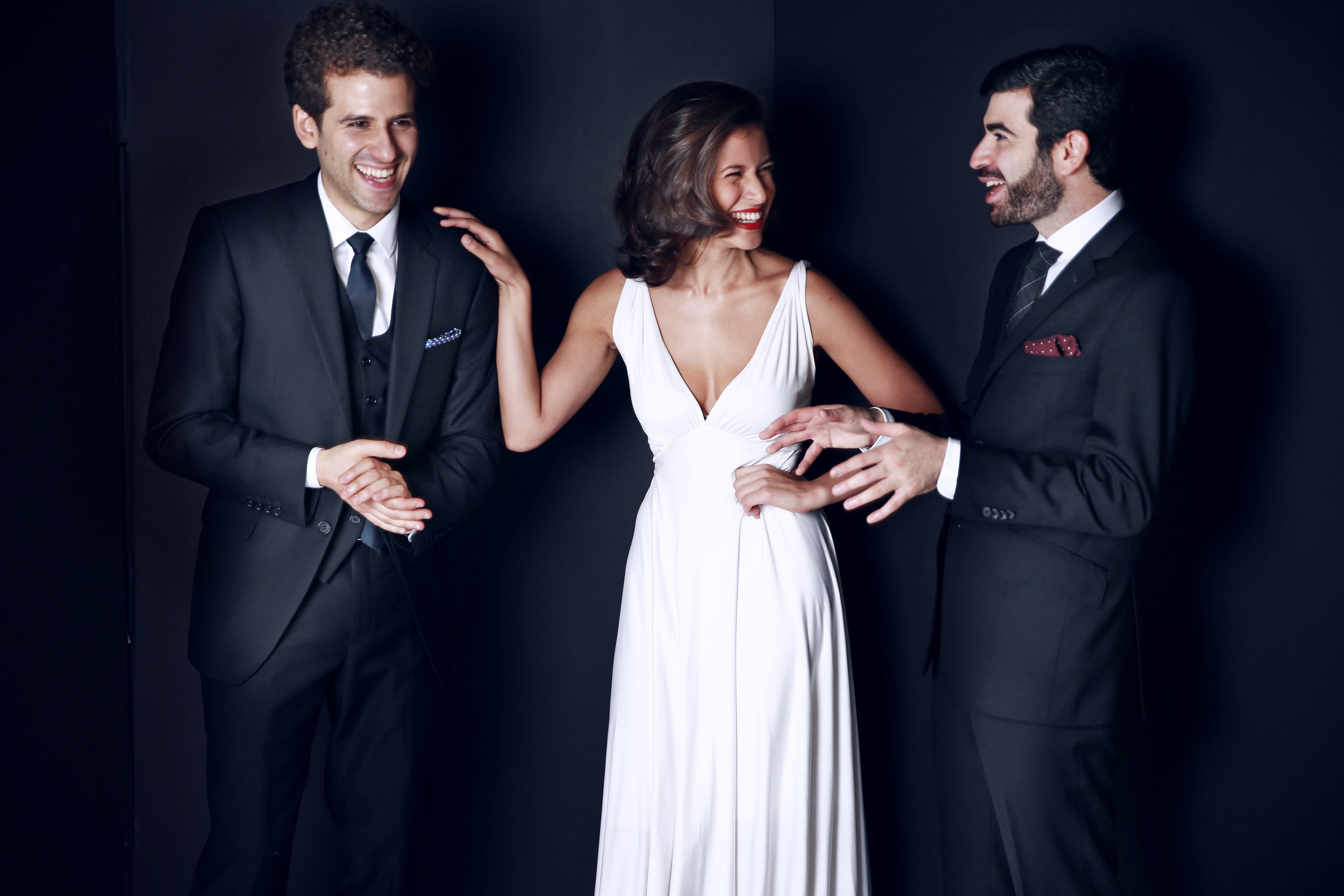 Nick Canellakis, Elena Urioste and Michael Brown