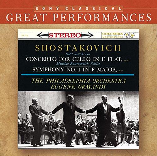 Ormandy, Shostakovich and Rostropovich