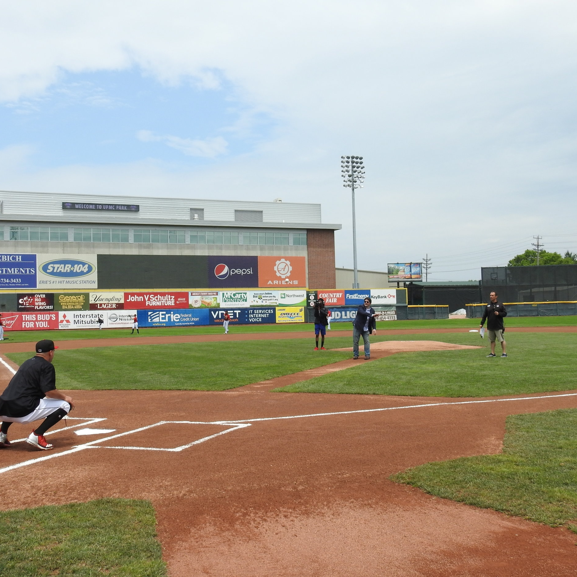 Play Ball! - From throwing out the first pitch to hanging out with C. Wolf, everyone enjoyed the day at UPMC Park.