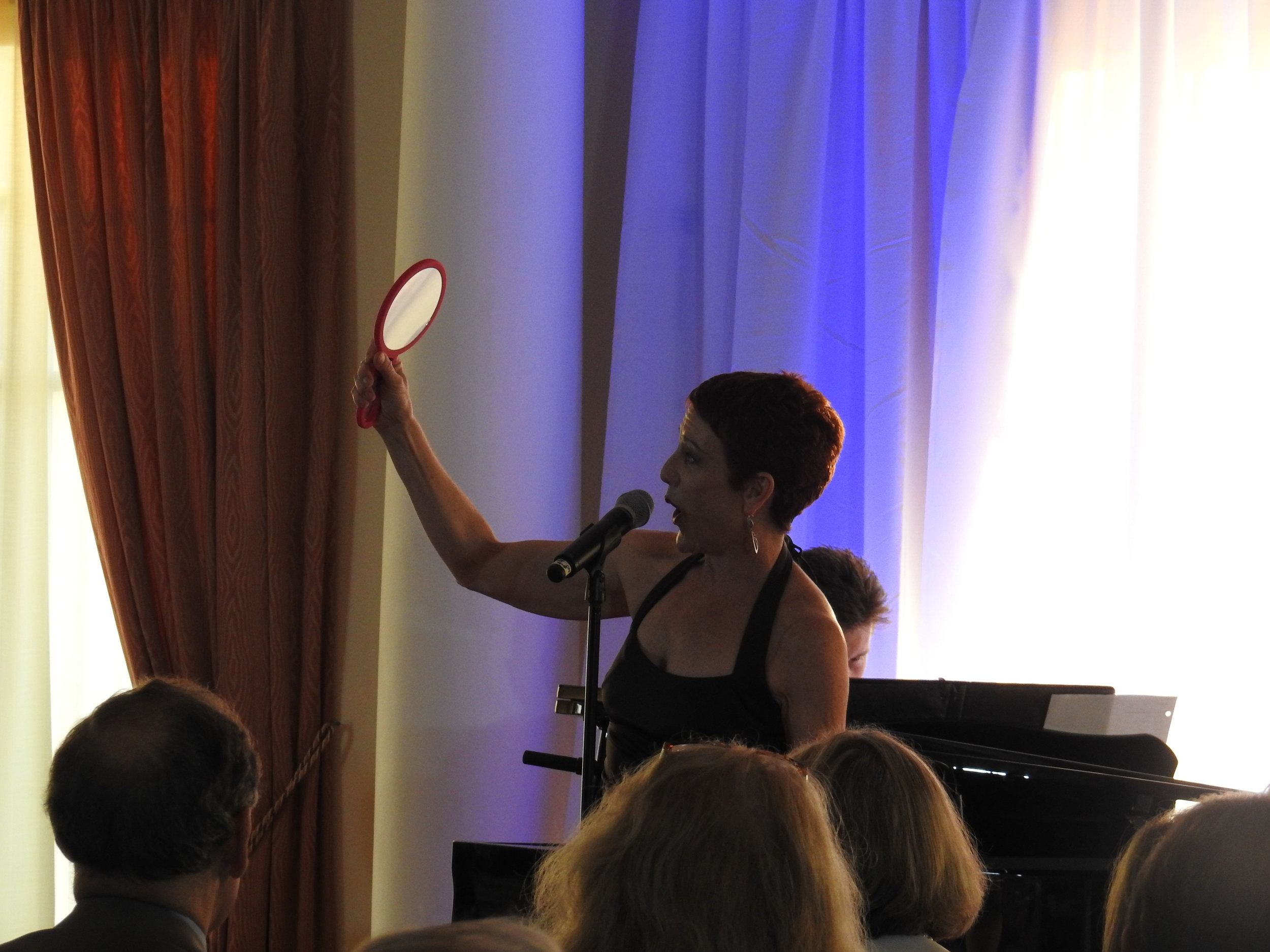 Unforgettable Performance - Broadway superstar Lisa Vroman wowed a packed house with an unforgettable performance!