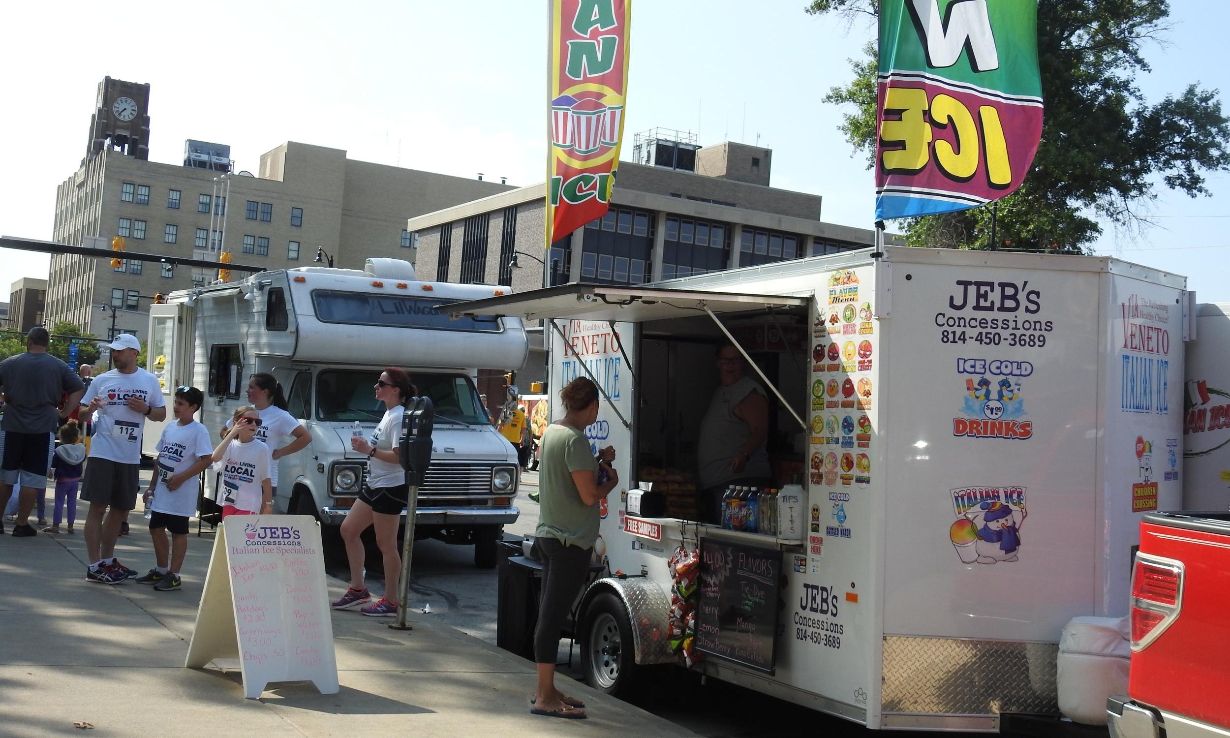 Street Fair - Vendors, instrumental petting zoo, food trucks and more!