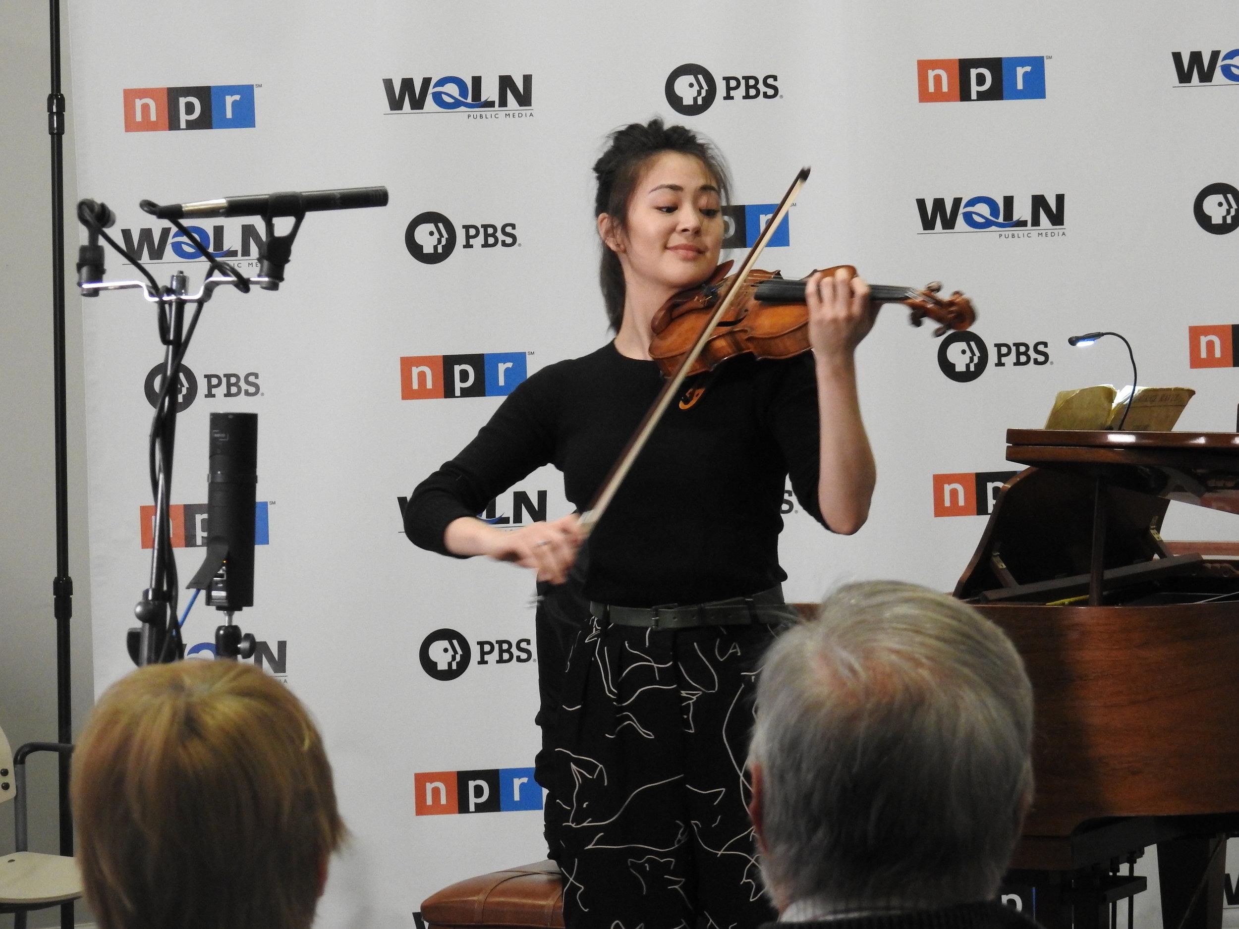 Simone Porter, violin