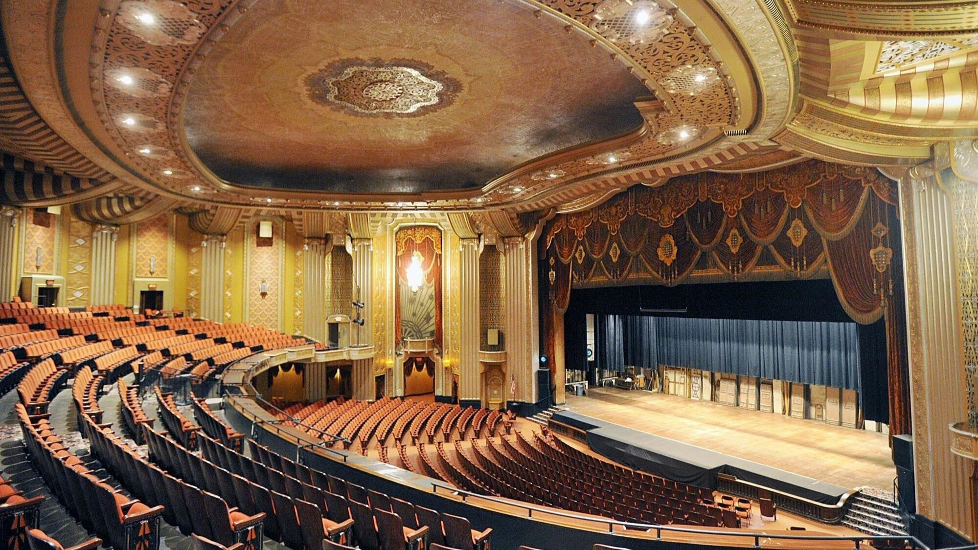 The Warner Theatre, home of the Erie Philharmonic
