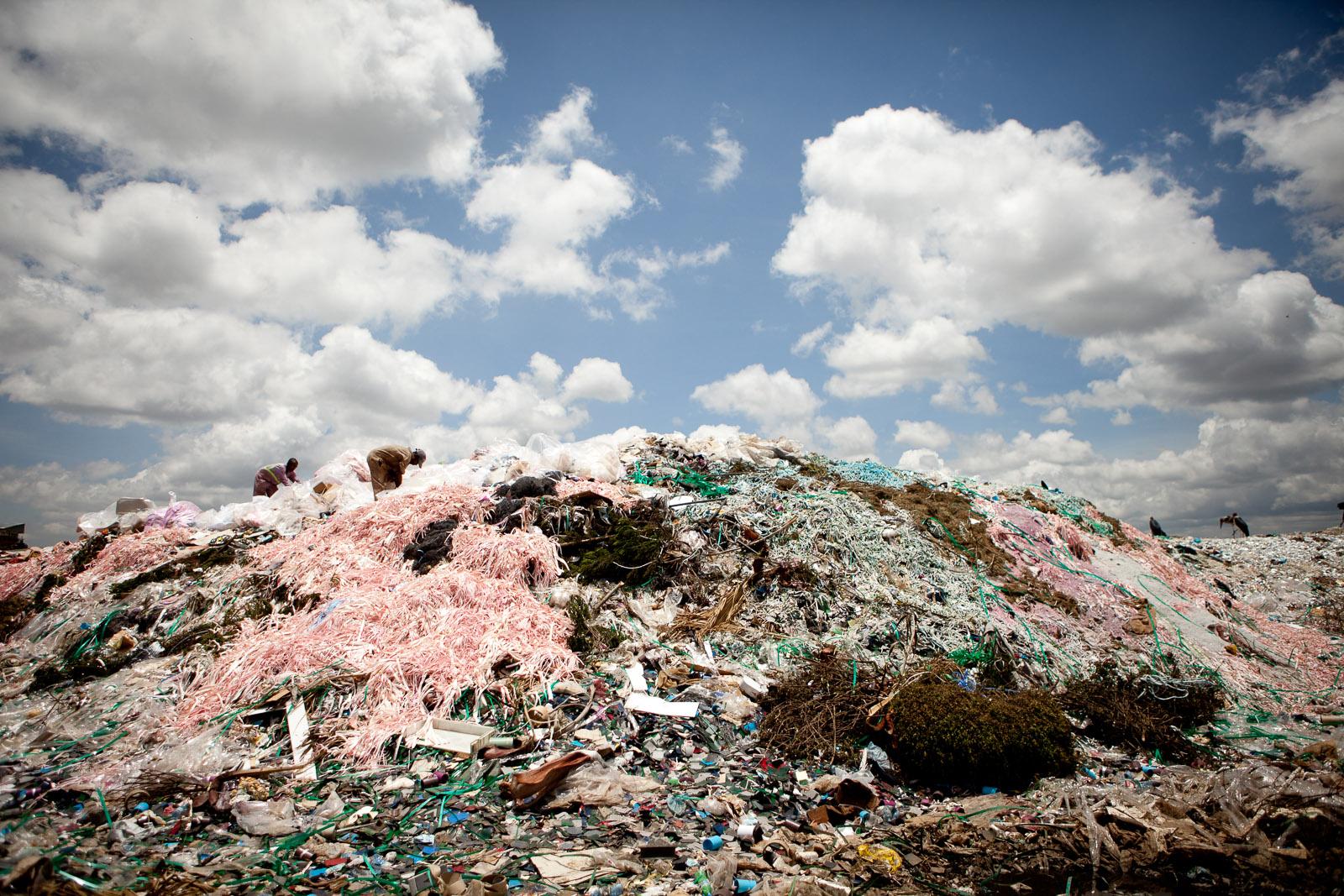 Recycling at the Dandora Dump, Korogocho, Nairobi, Kenya
