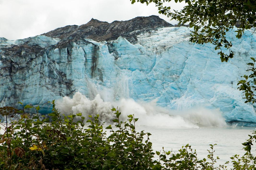 Calving Glacier, Cordova, Alaska