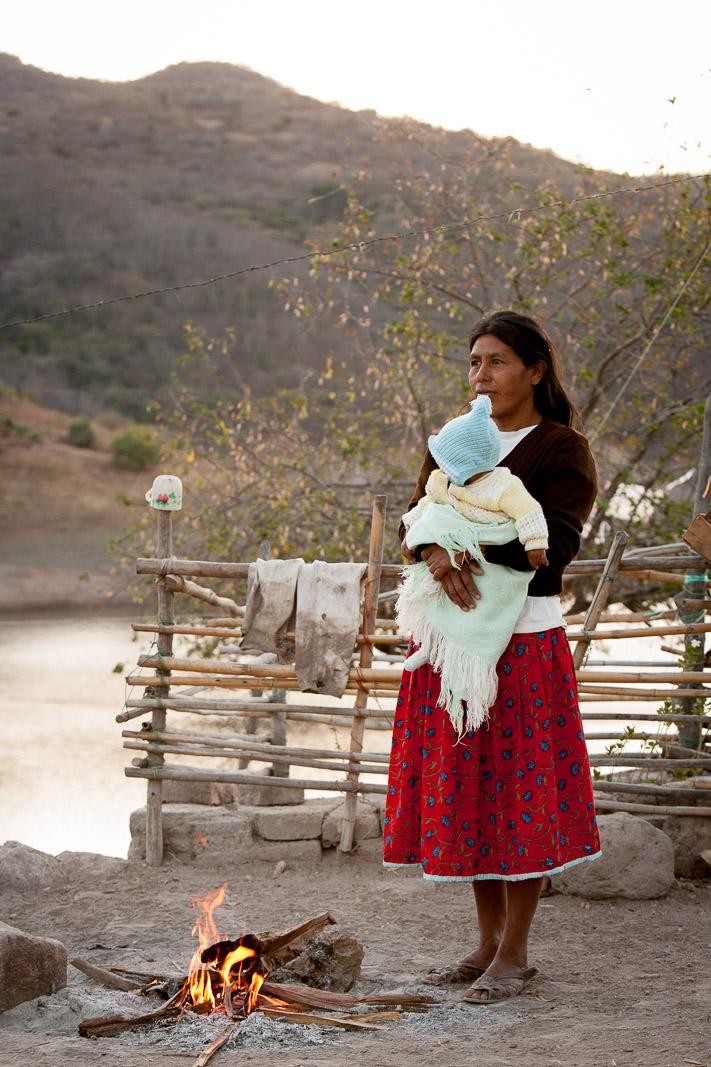 Huichol Village, Aguamilpa, Mexico