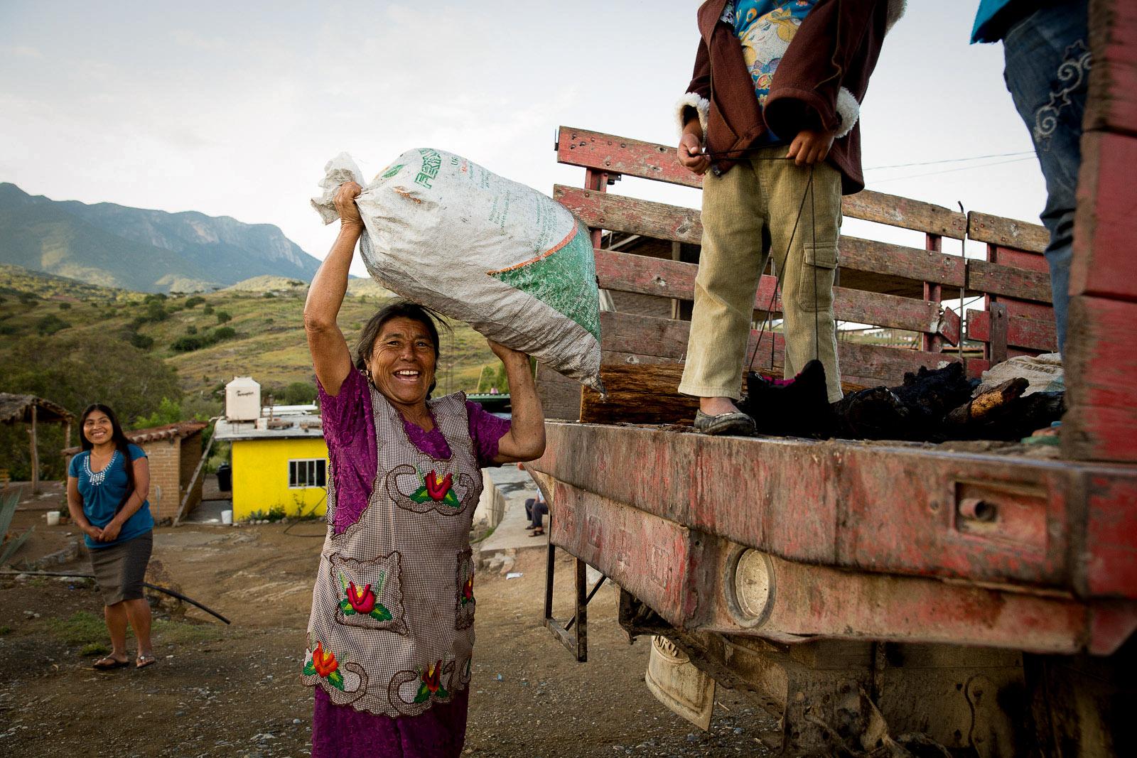 Doña Christina Hernández, San Baltazar, Oaxaca, Mexico