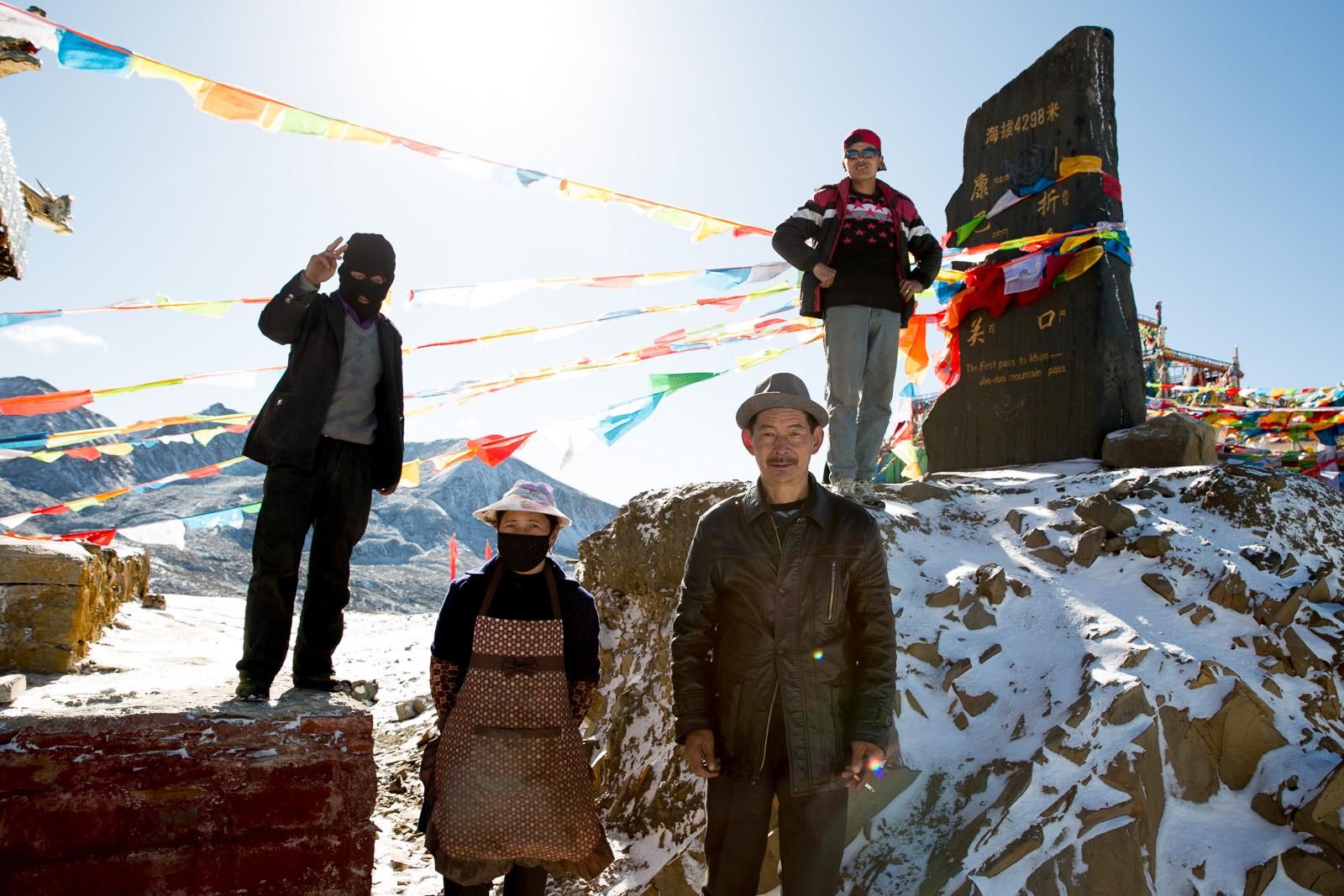 Zhe-Duo Mountain Pass, Tibetan Autonomous Region, China