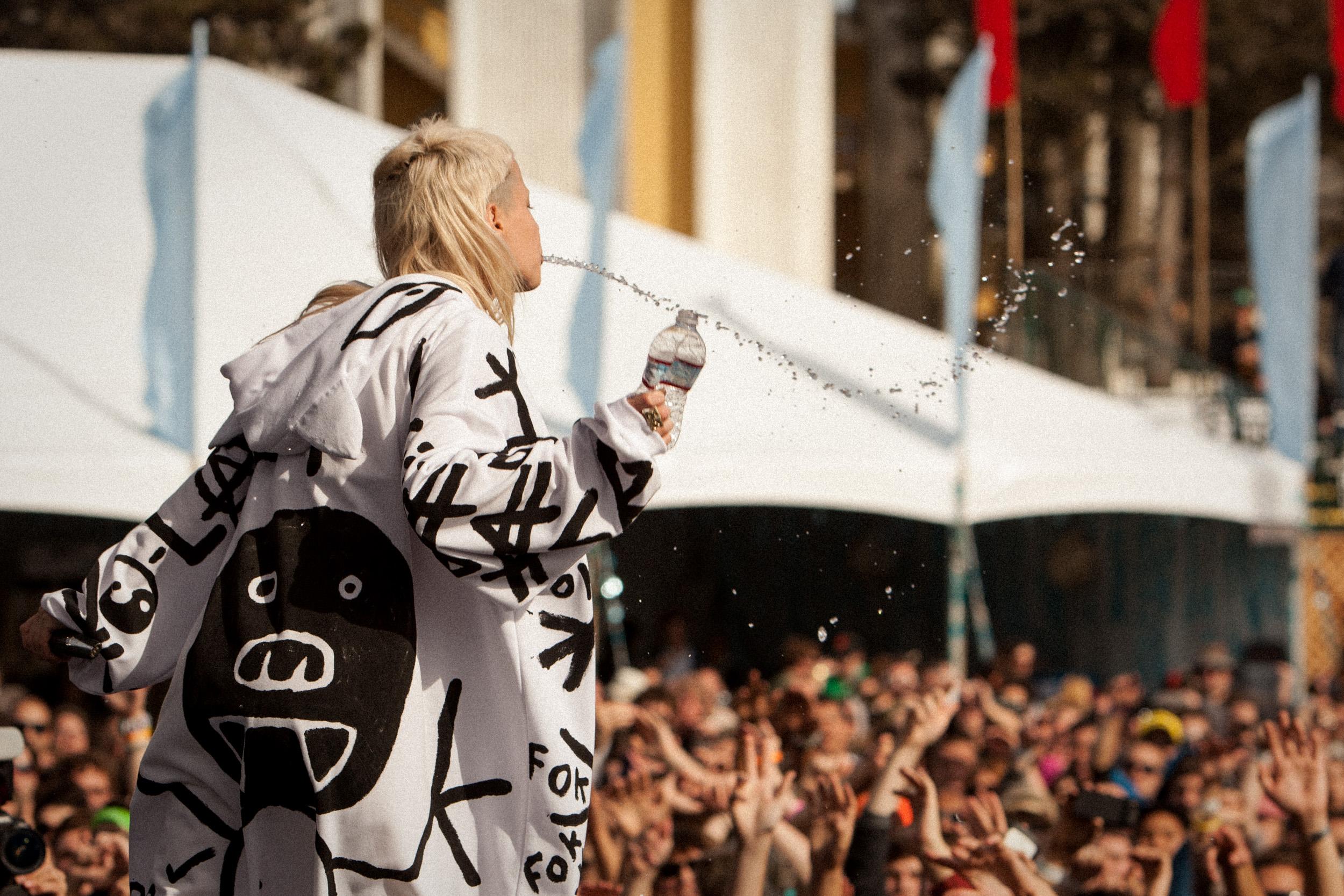 Die Antwoord, Treasure Island Music Festival, Oakland, CA