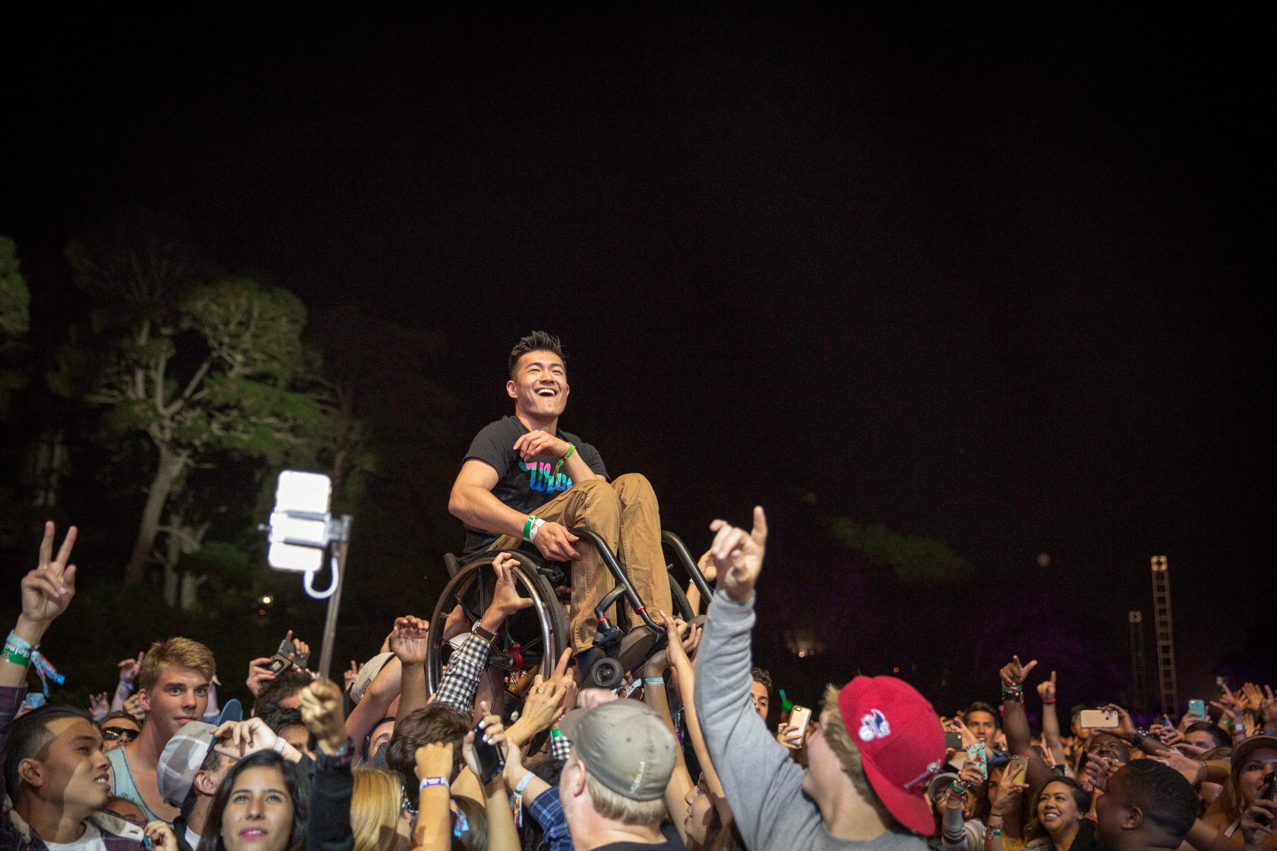 Kendrick Lamar Show, Outside Lands, SF, CA