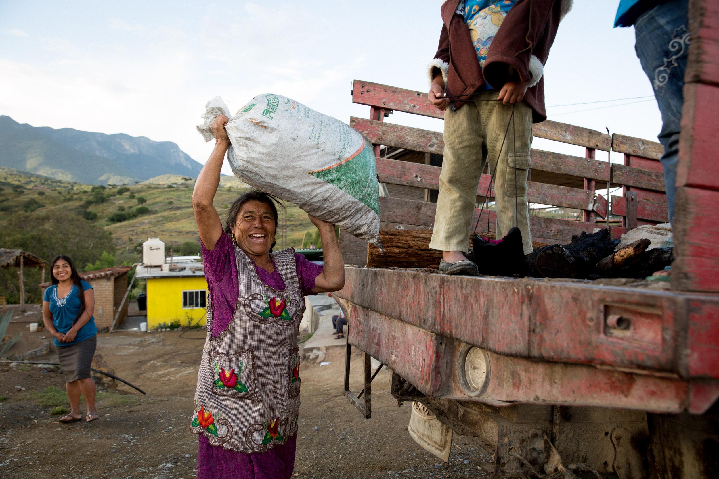 Doña Christina Hernández, San Baltazar, Mexico