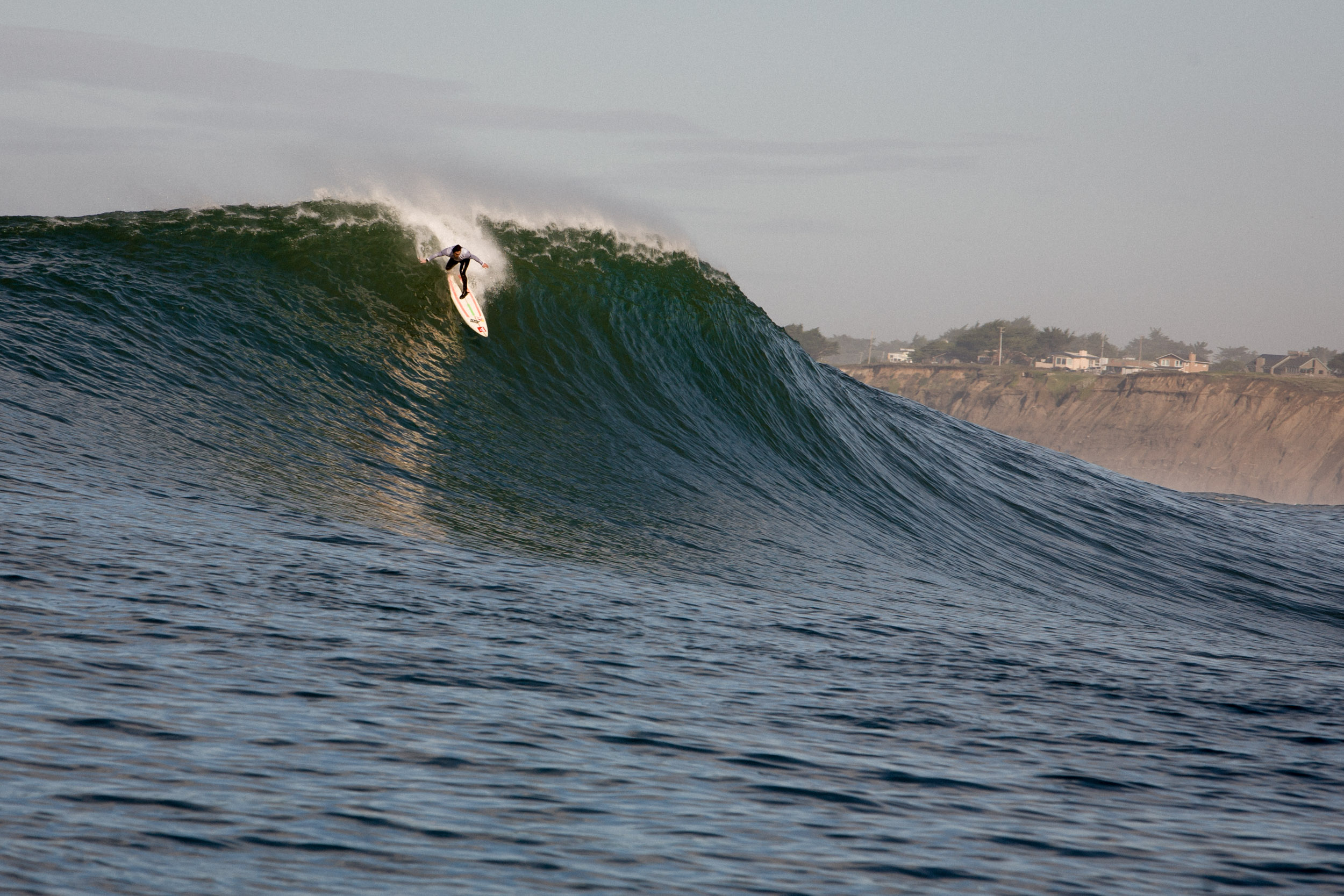 Ross Clarke-Jones at Mavericks, Half Moon Bay, California