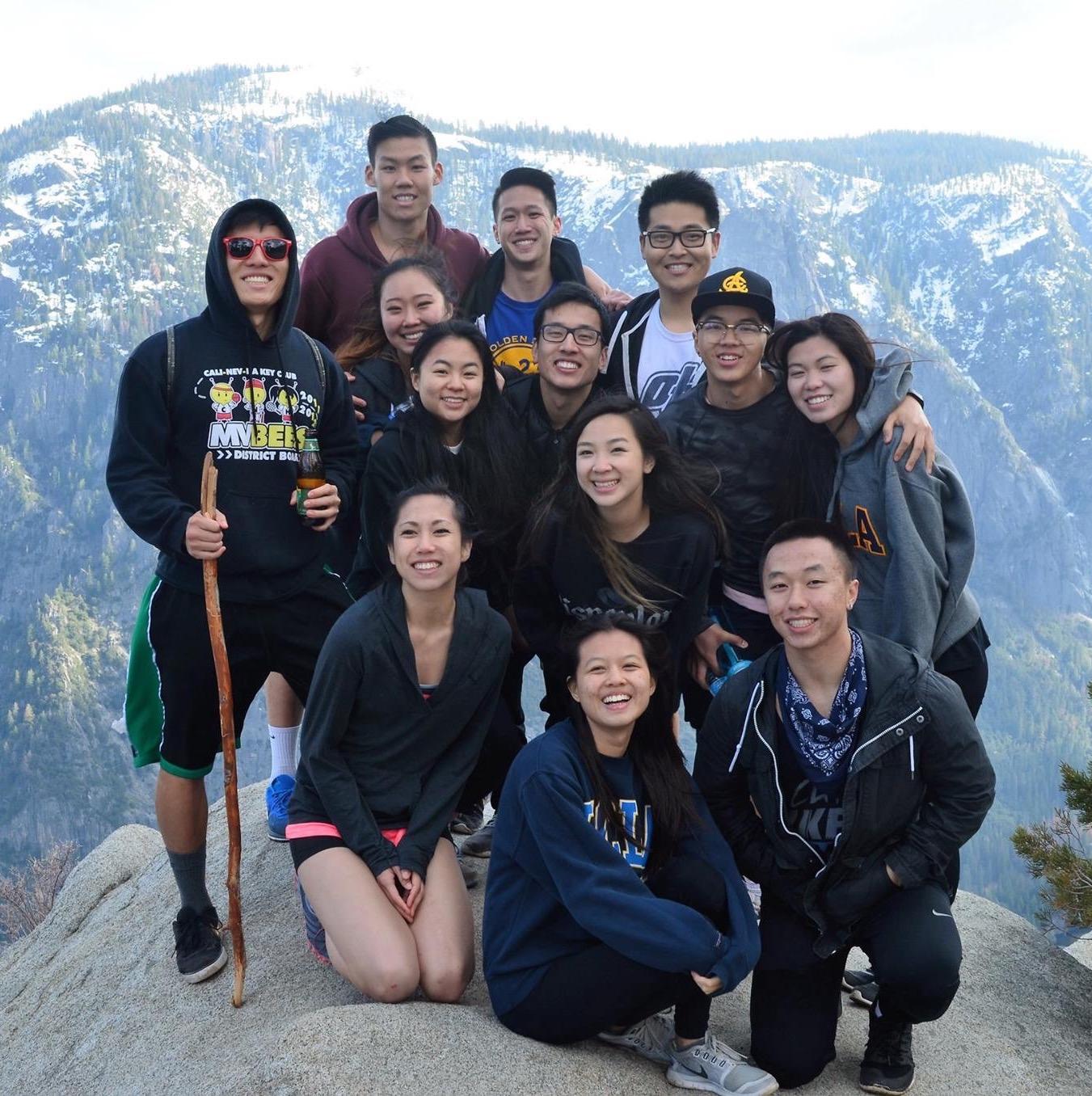 UCLA ΩΣΤ Spring Break Yosemite Trip