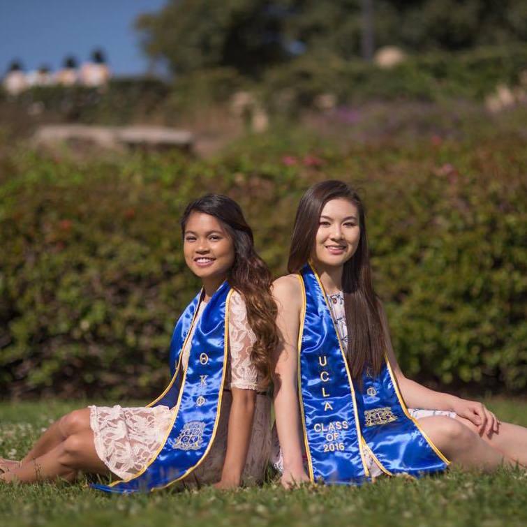 Giselle & Fiona's Graduation Photoshoot
