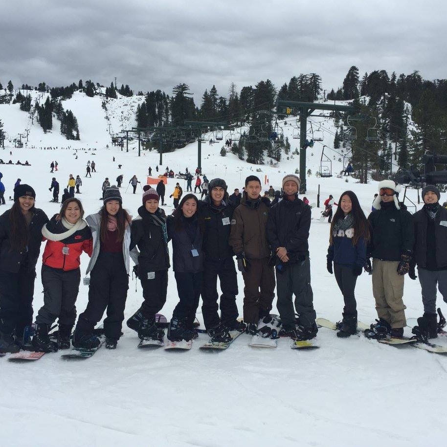 UCLA  ΛΦΕ Ski Trip