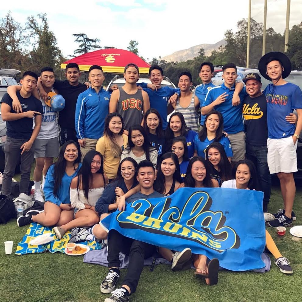 UCLA vs USC Tailgate with ΖΦΡ