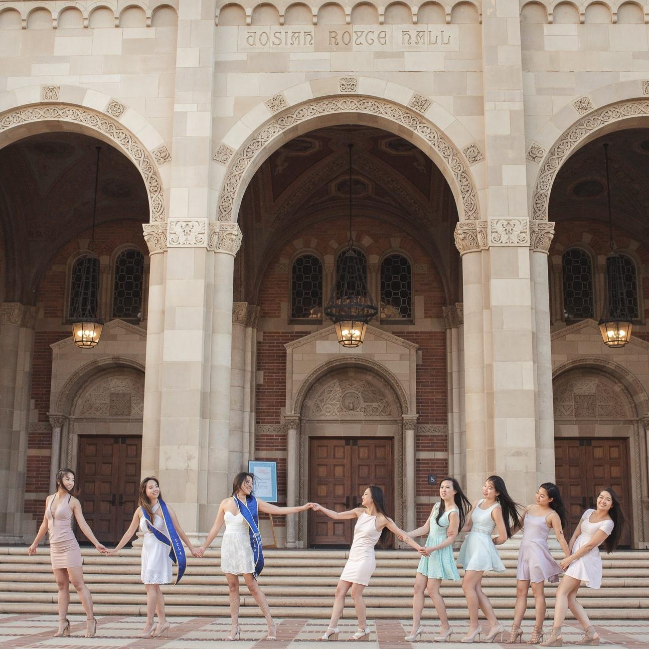 Anh & Nadia's Graduation Photoshoot