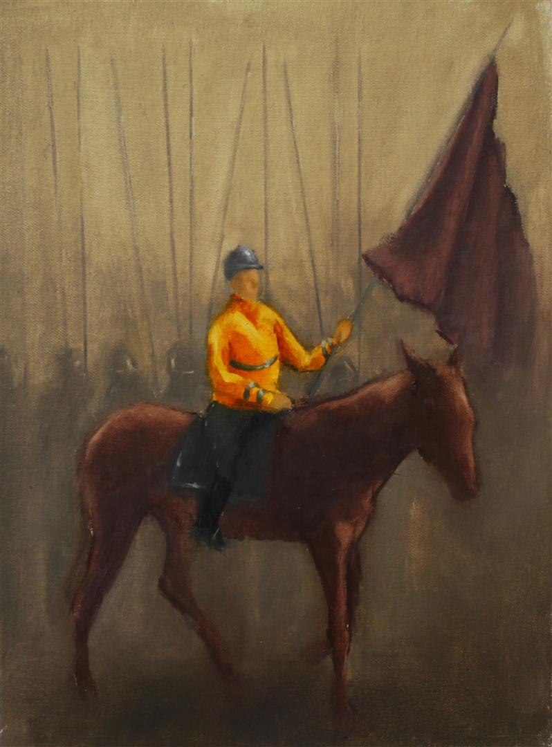 Rider II, Oil on Canvas, 2012
