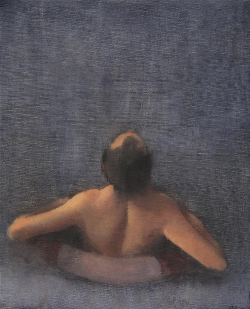 Float, Oil on Canvas, 37x30cm, 2011